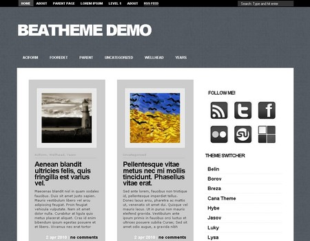 Sucha - тема для блога на WordPress