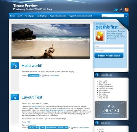 Лучшие WordPress темы - бесплатно