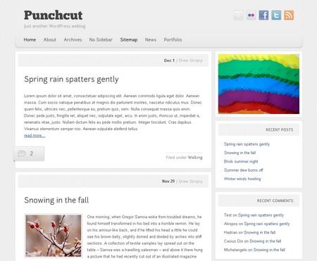 Красивая и бесплатная тема для WordPress