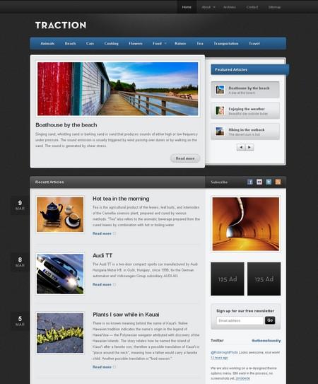 Бесплатная премиум тема для WordPress
