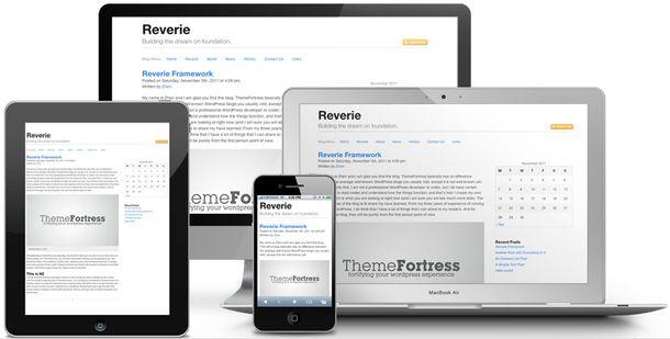 WordPress тема для разработки на html5