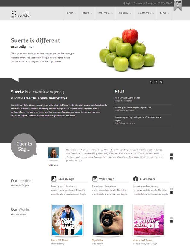 Корпоративный стиль для Вашего WordPress сайта
